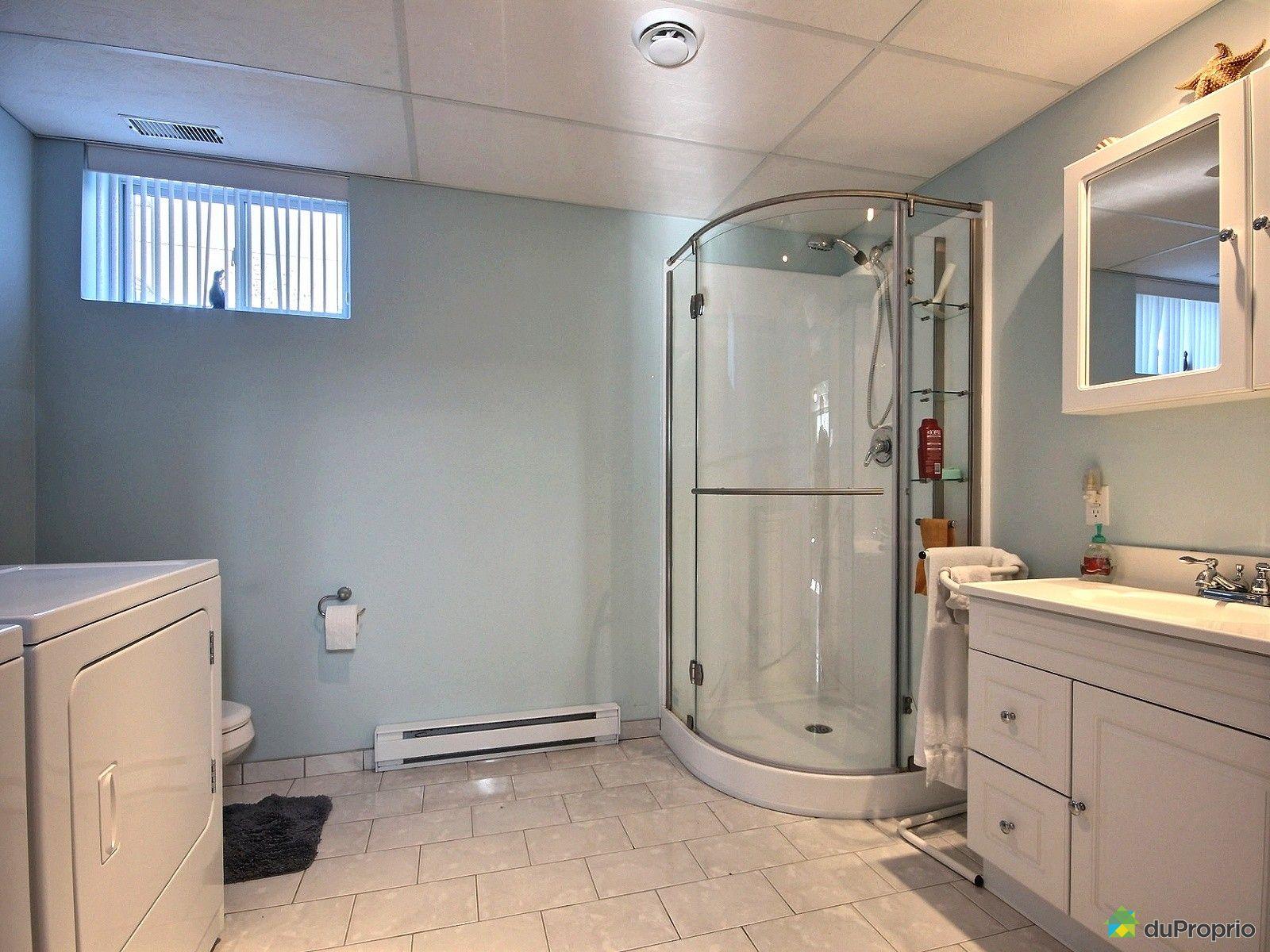 Maison vendu cap de la madeleine immobilier qu bec for Plancher salle de bain sous sol