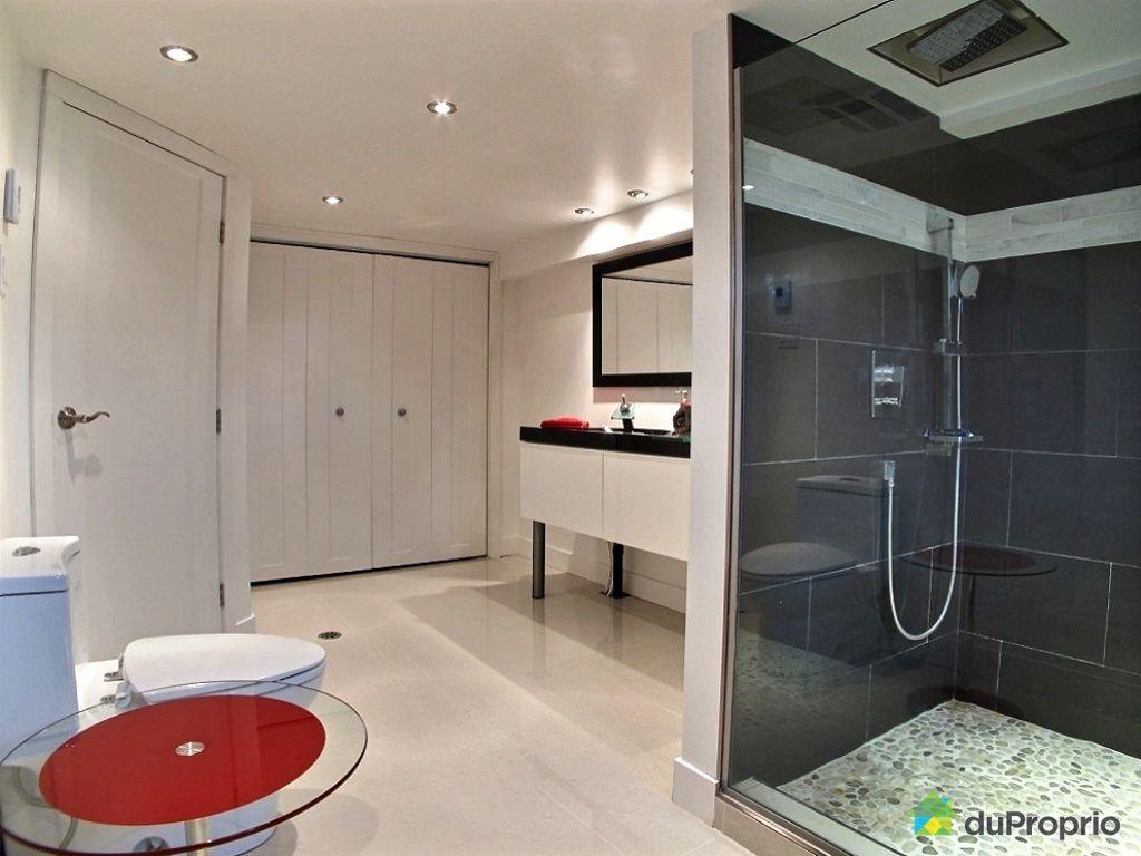 Maison vendu cap de la madeleine immobilier qu bec for Plomberie sous sol salle de bain