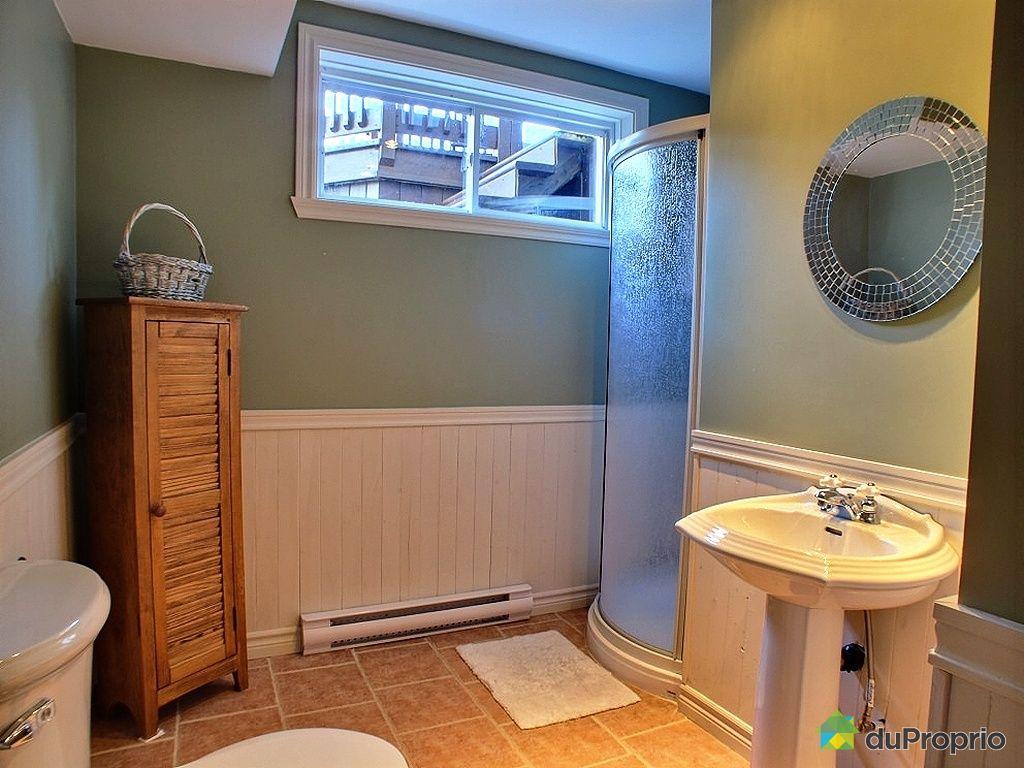 Maison vendu l vis immobilier qu bec duproprio 349508 for Plomberie sous sol salle de bain
