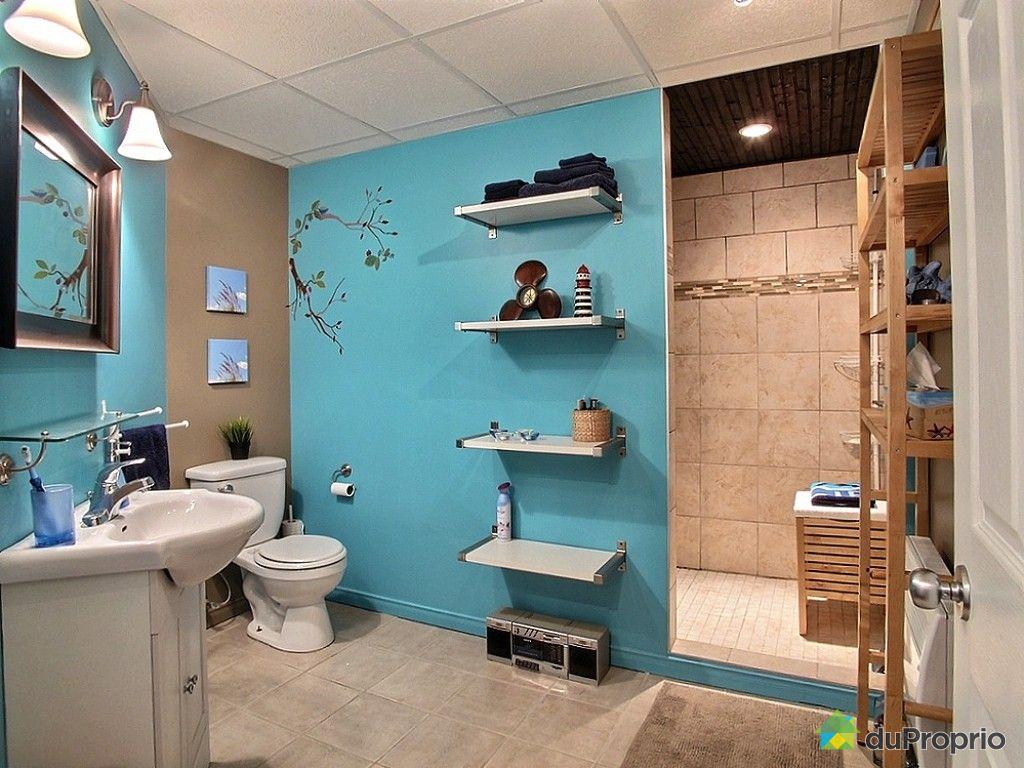 Maison vendre maniwaki 323 rue wilfrid leblanc for Plomberie salle de bain au sous sol