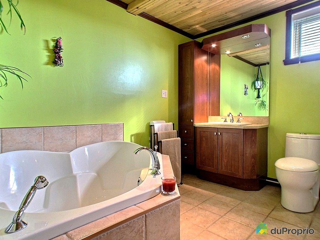 Maison vendu mont joli immobilier qu bec duproprio 489519 for Plomberie salle de bain au sous sol