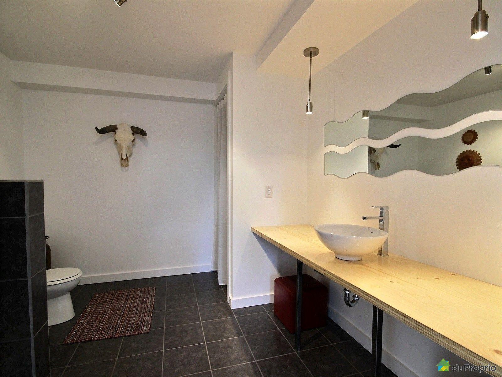 Maison vendre morin heights 38 rue de la c dri re for Prix salle de bain sous sol