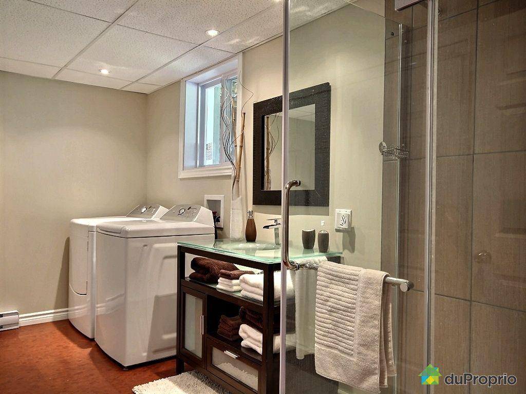 Maison vendu neufchatel immobilier qu bec duproprio for Plomberie salle de bain au sous sol