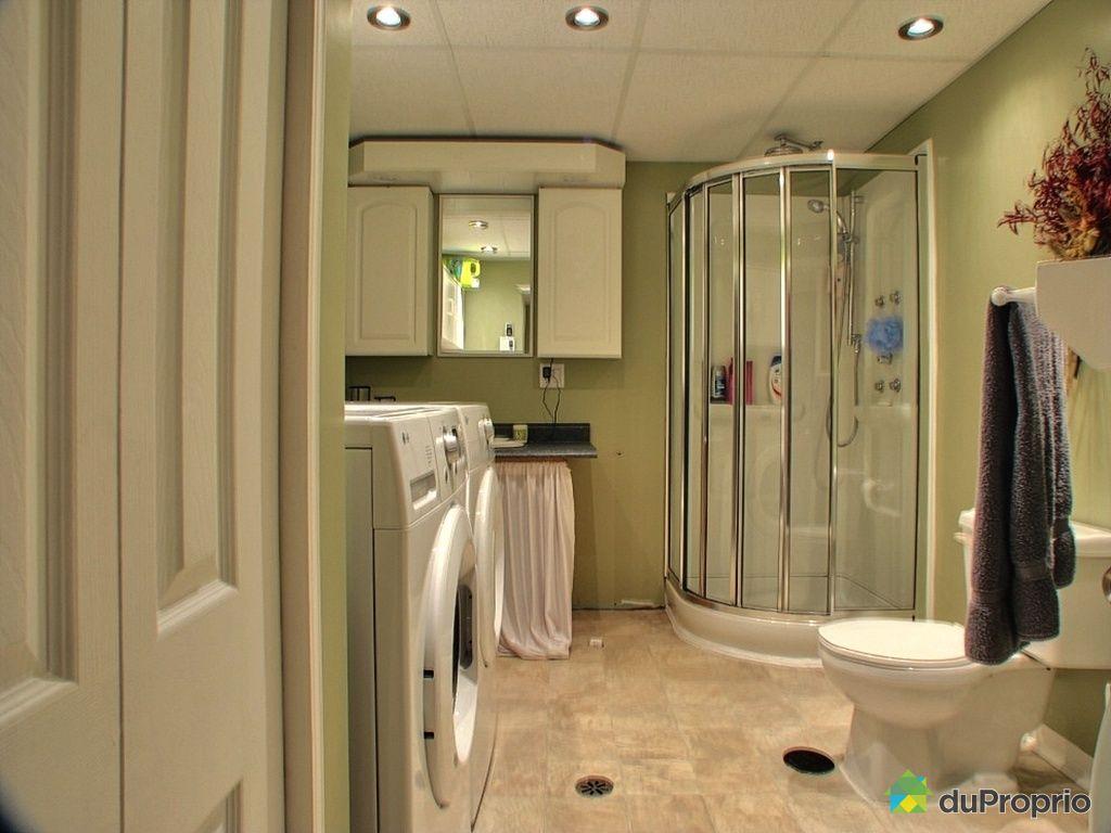Maison vendu nicolet immobilier qu bec duproprio 218887 for Plomberie salle de bain au sous sol
