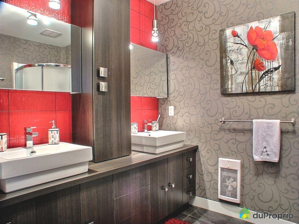 Maison vendu sherbrooke immobilier qu bec duproprio - Salle de bain contemporaine photo ...