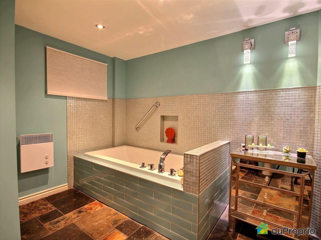 Maison vendre sillery 1268 rue james lemoine - Salle de bain sous sol ...
