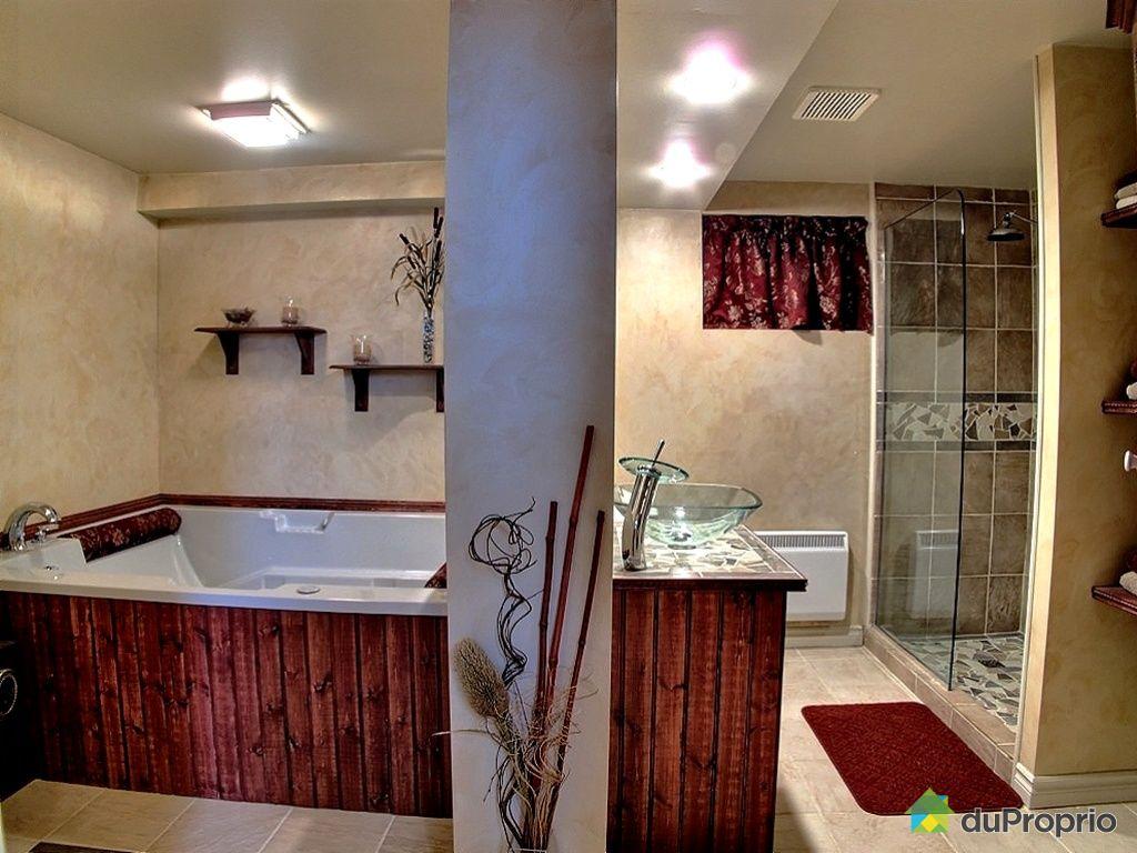 Maison vendu st basile le grand immobilier qu bec for Chambre avec bain tourbillon montreal