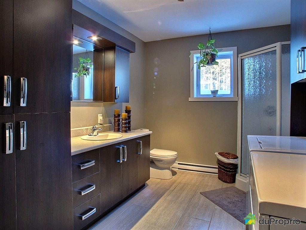 Maison vendu st charles de drummond immobilier qu bec for Plomberie sous sol salle de bain