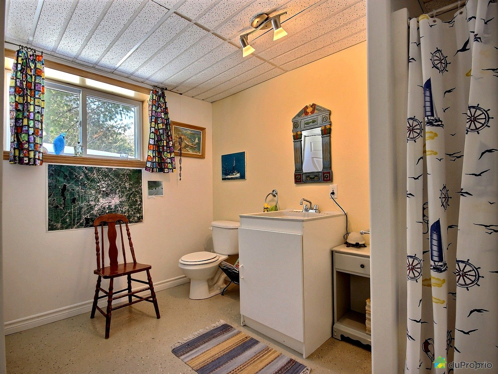 Maison vendu st fran ois xavier de brompton immobilier for Salle de bain xavier laurent
