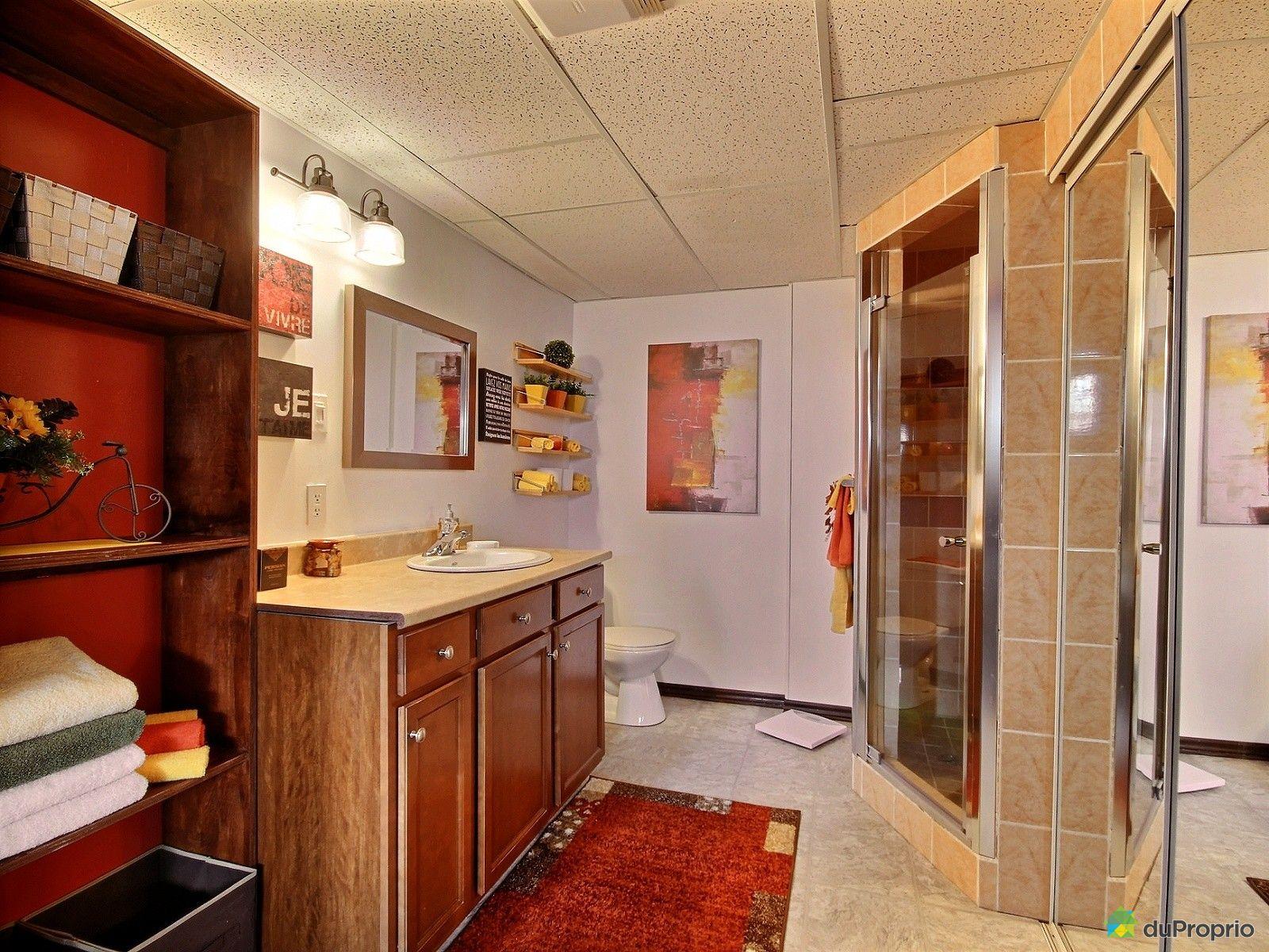 Maison vendu st hubert immobilier qu bec duproprio 586855 for Plomberie salle de bain au sous sol