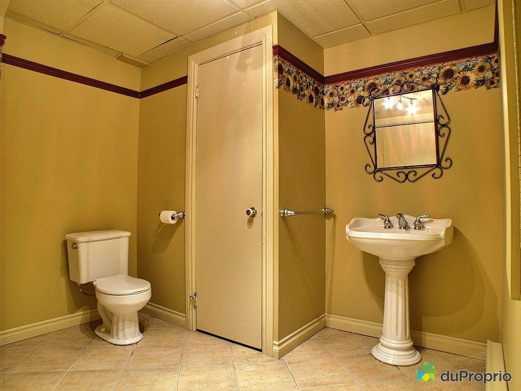 Maison vendu st jean baptiste de rouville immobilier - Salle de bain sous sol ...