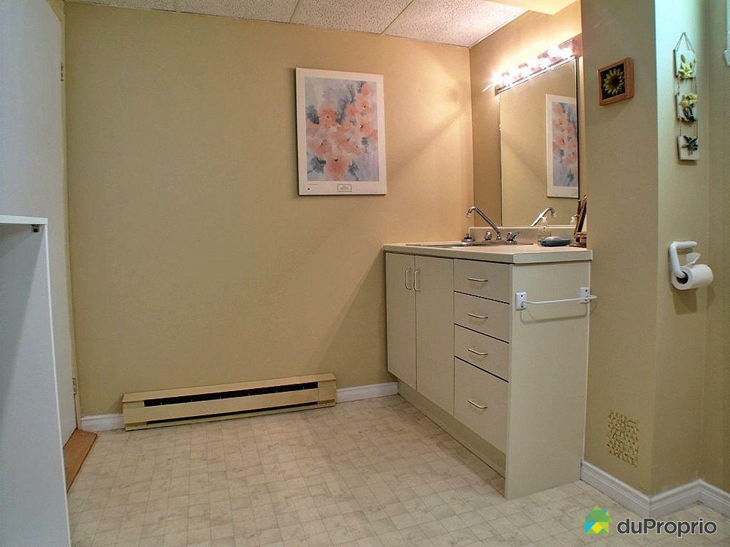 Maison vendu st jean chrysostome immobilier qu bec - Salle de bain sous sol ...