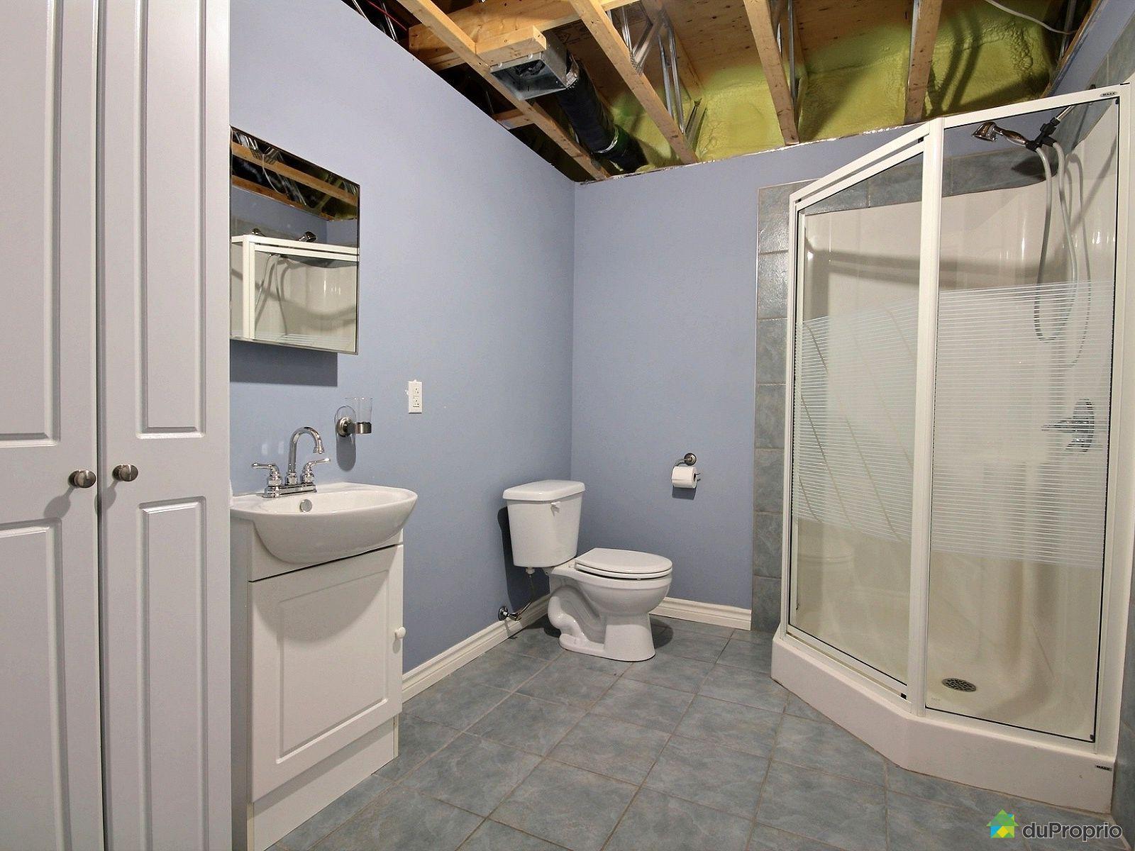 Maison vendre st jean sur richelieu 55 rue tremblay for Plancher salle de bain sous sol
