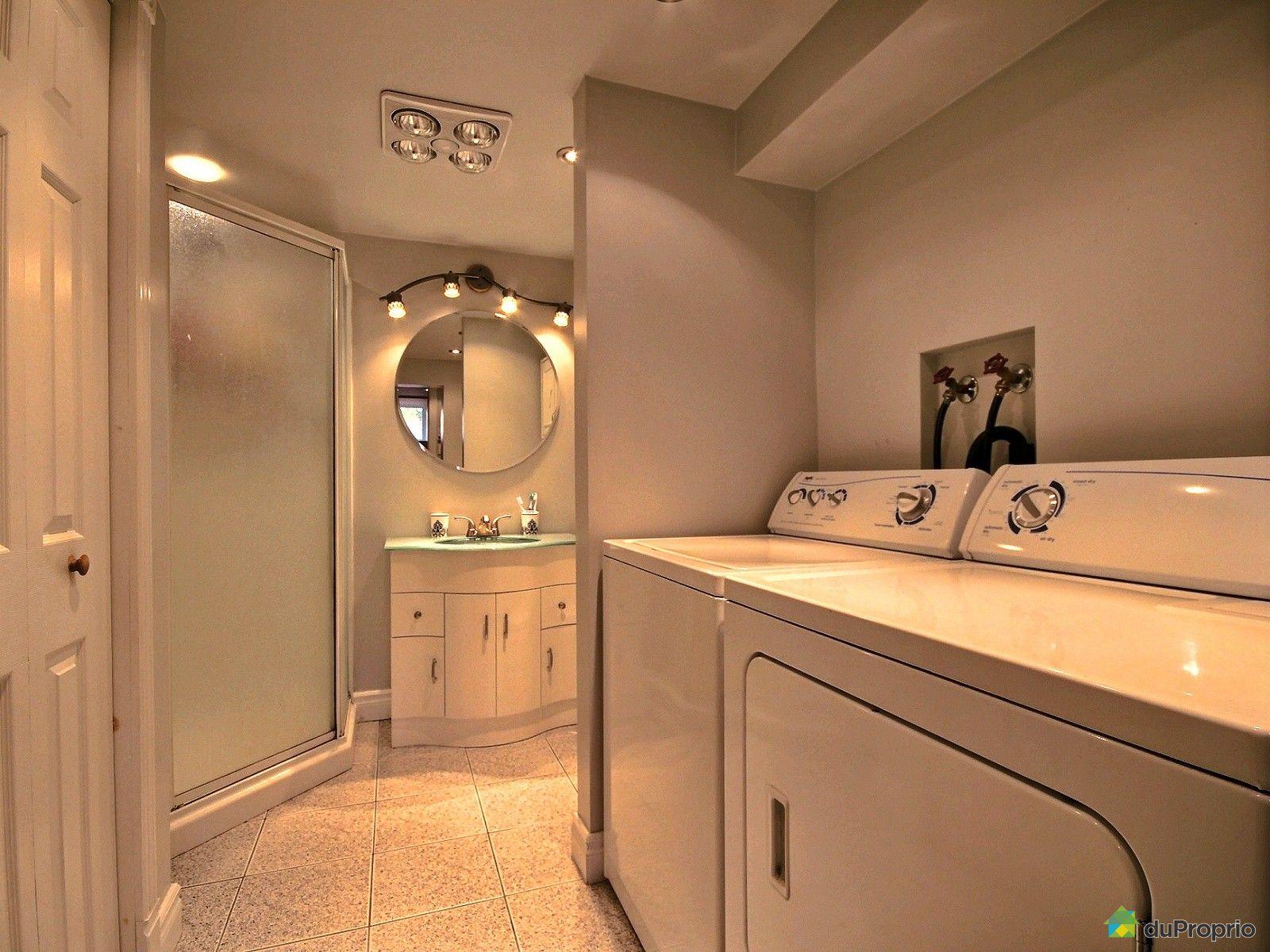 Maison vendu st mathias sur richelieu immobilier qu bec - Salle de bain sous sol ...