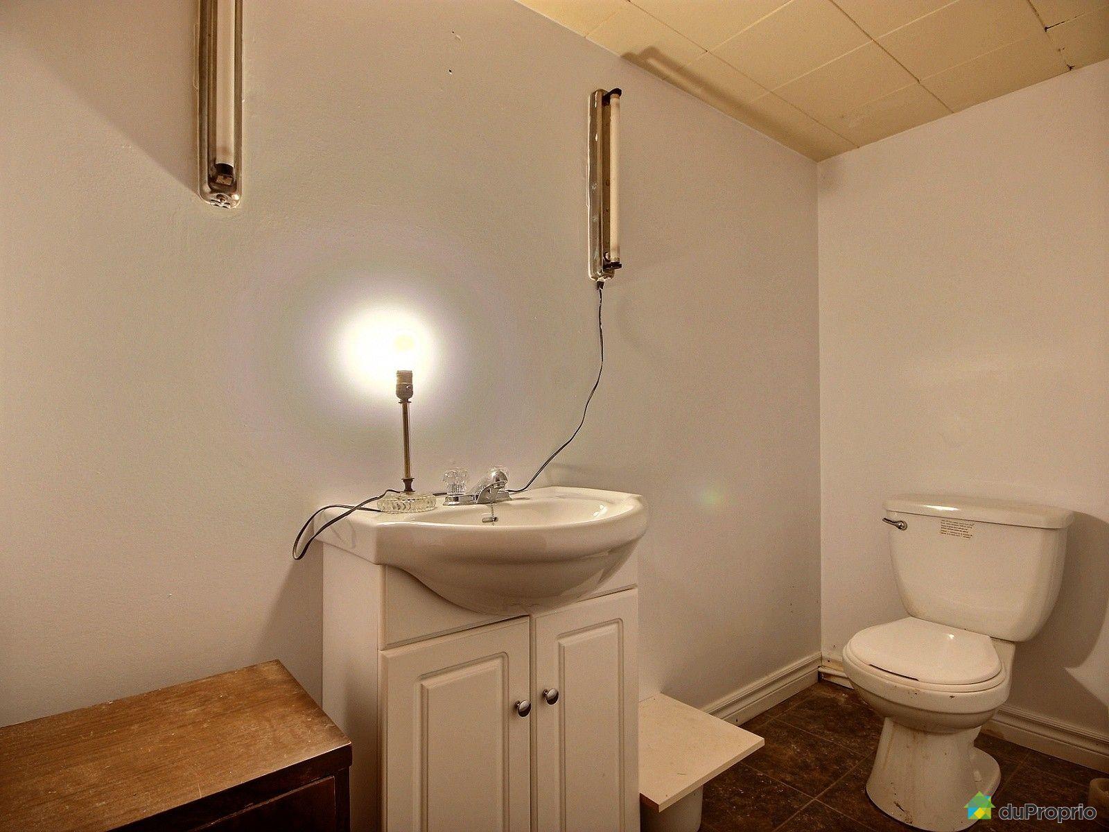Maison vendu st raymond immobilier qu bec duproprio for Prix salle de bain sous sol