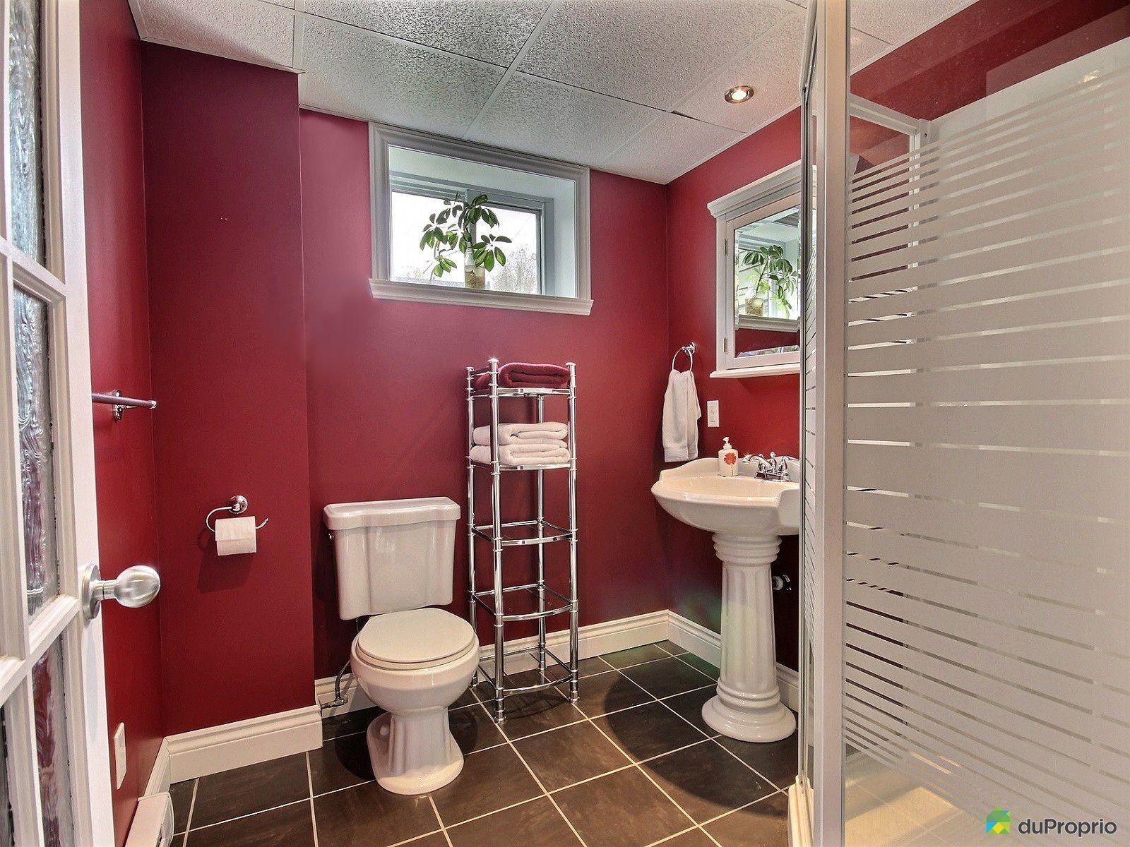 Maison vendu st r dempteur immobilier qu bec duproprio for Plomberie salle de bain au sous sol