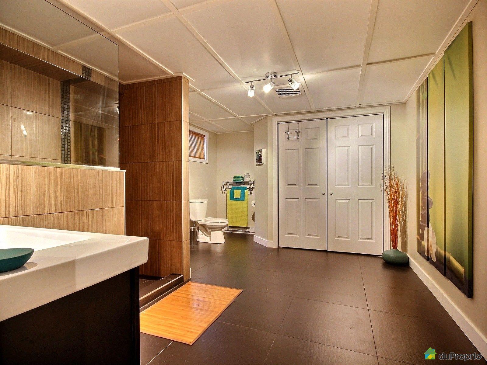 Maison vendu ste foy immobilier qu bec duproprio 554220 for Plomberie salle de bain sous sol