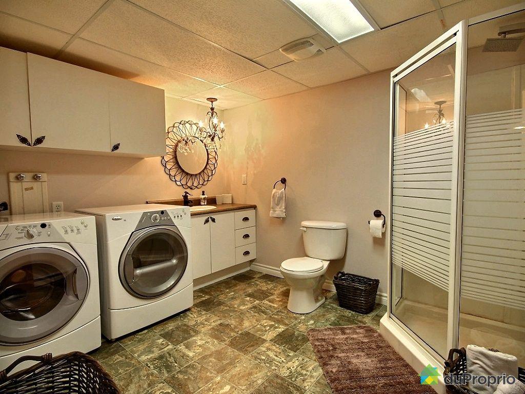 Maison vendu ste foy immobilier qu bec duproprio 416387 for Plomberie sous sol salle de bain
