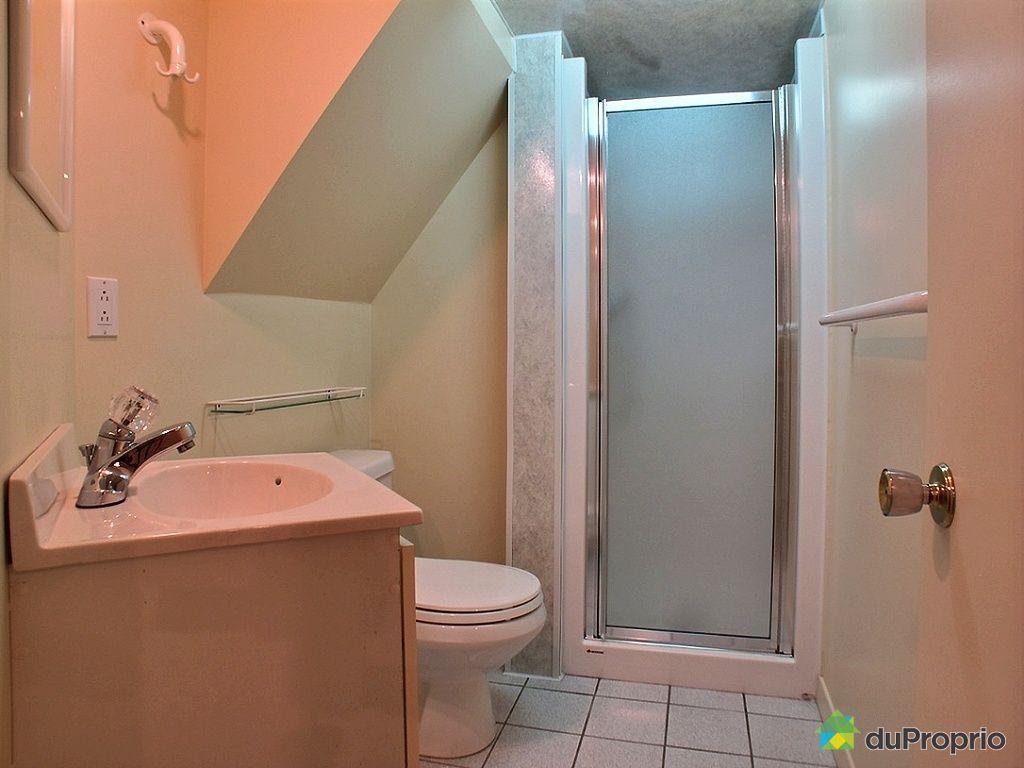Maison vendu ste foy immobilier qu bec duproprio 477315 - Salle de bain sous sol ...