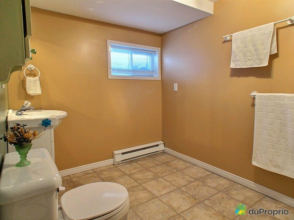 Maison vendre ste foy 619 rue des m l zes nord for Prix salle de bain sous sol