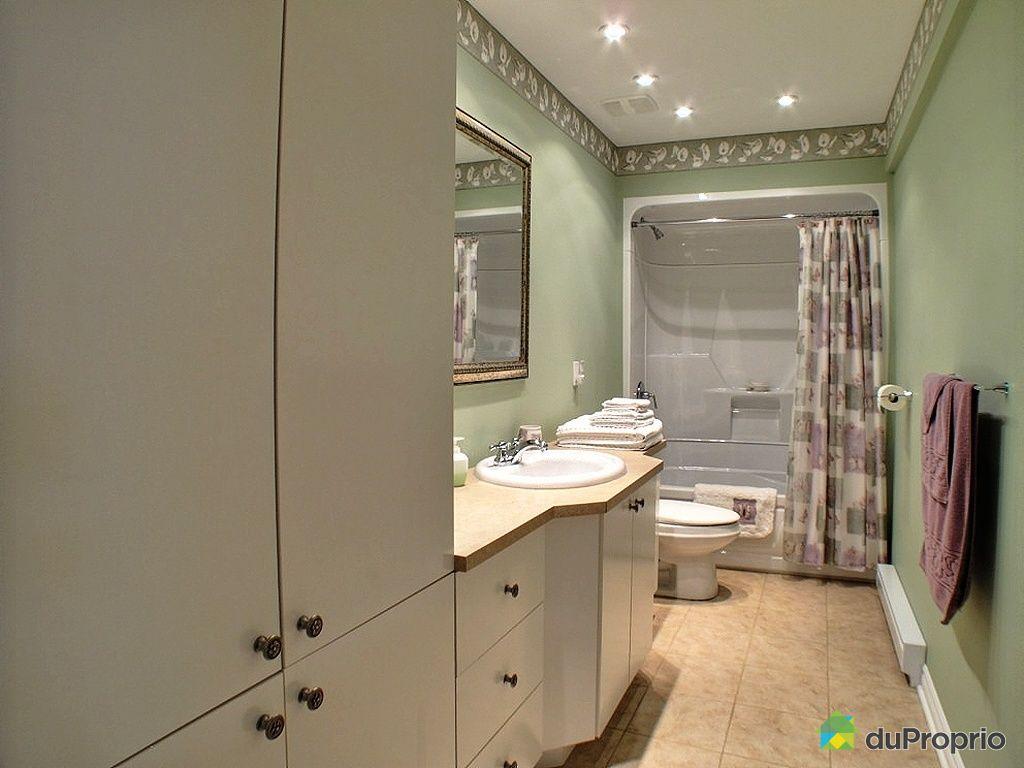 Maison vendu ste julie immobilier qu bec duproprio 392670 - Salle de bain sous sol ...