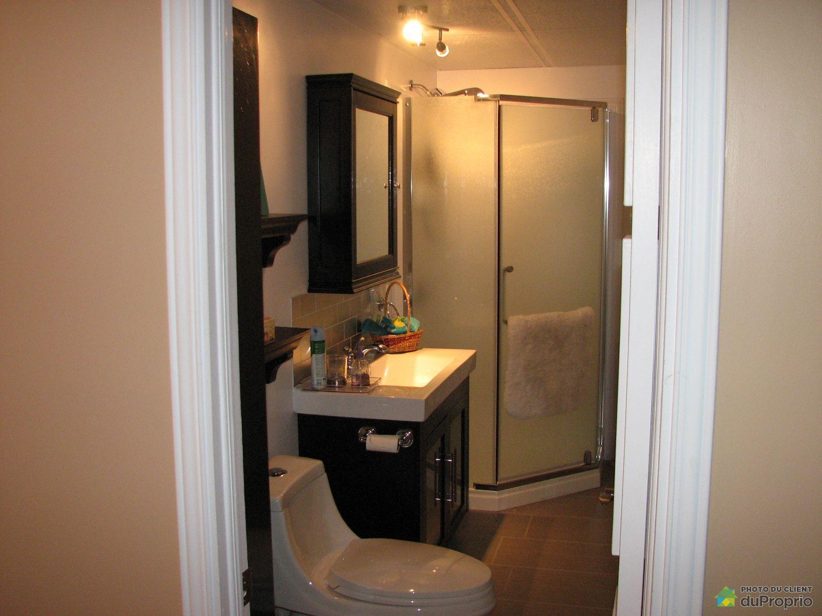 Maison vendre ste luce sur mer 239 route du fleuve for Prix salle de bain sous sol