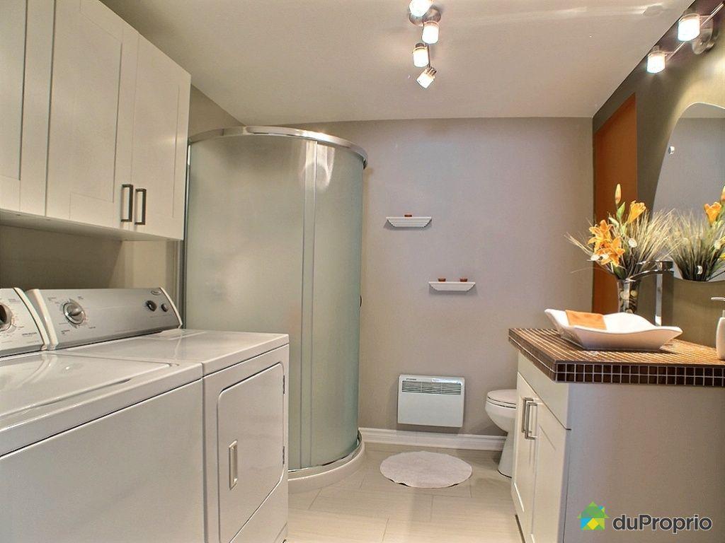 Maison vendu ste marthe sur le lac immobilier qu bec for Plancher salle de bain sous sol