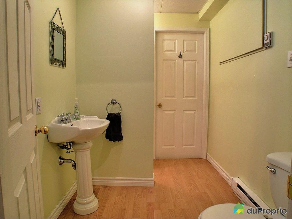Maison vendu varennes immobilier qu bec duproprio 326768 - Salle de bain sous sol ...