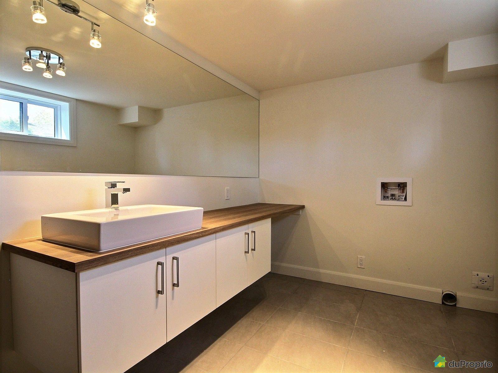 Maison neuve vendu charlesbourg immobilier qu bec for Plomberie salle de bain sous sol