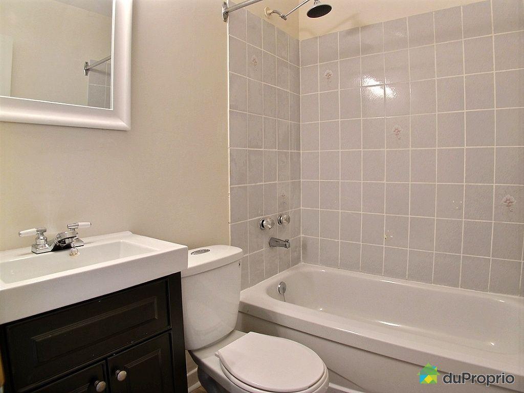 Triplex vendu montr al immobilier qu bec duproprio 464717 - Salle de bain sous sol ...
