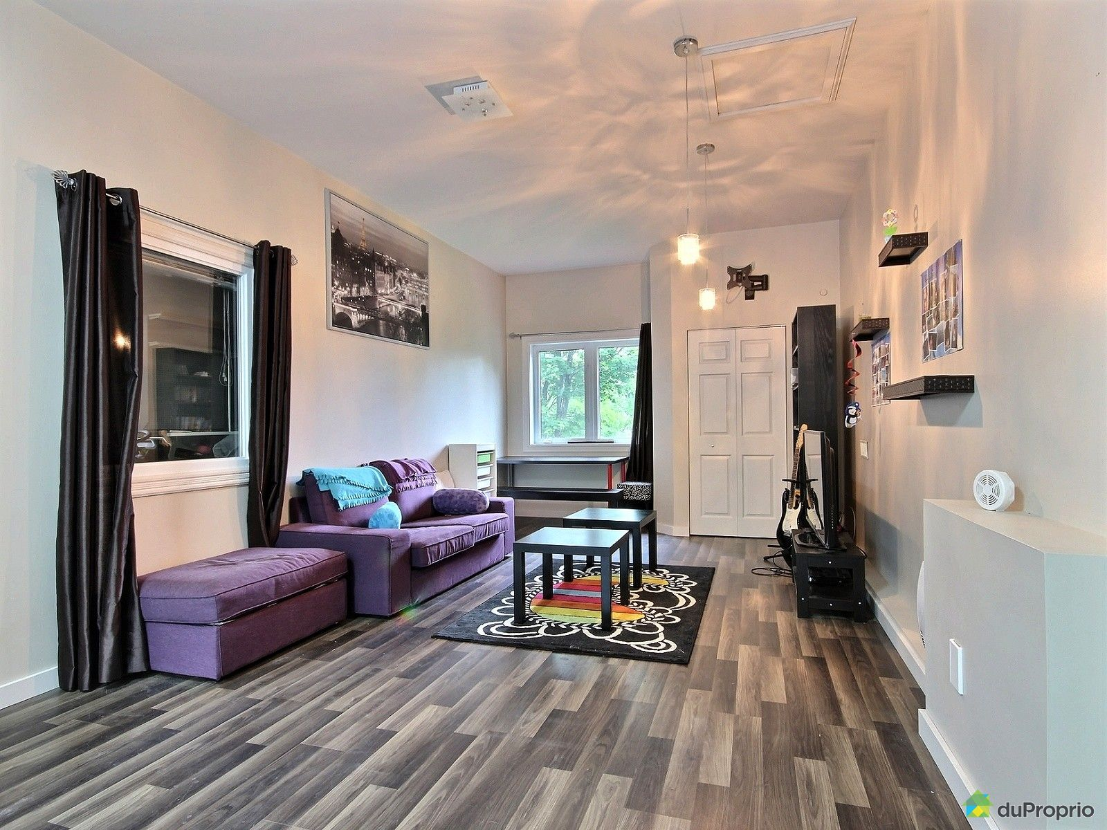 bungalow sur lev vendu mont laurier immobilier qu bec duproprio 525540. Black Bedroom Furniture Sets. Home Design Ideas