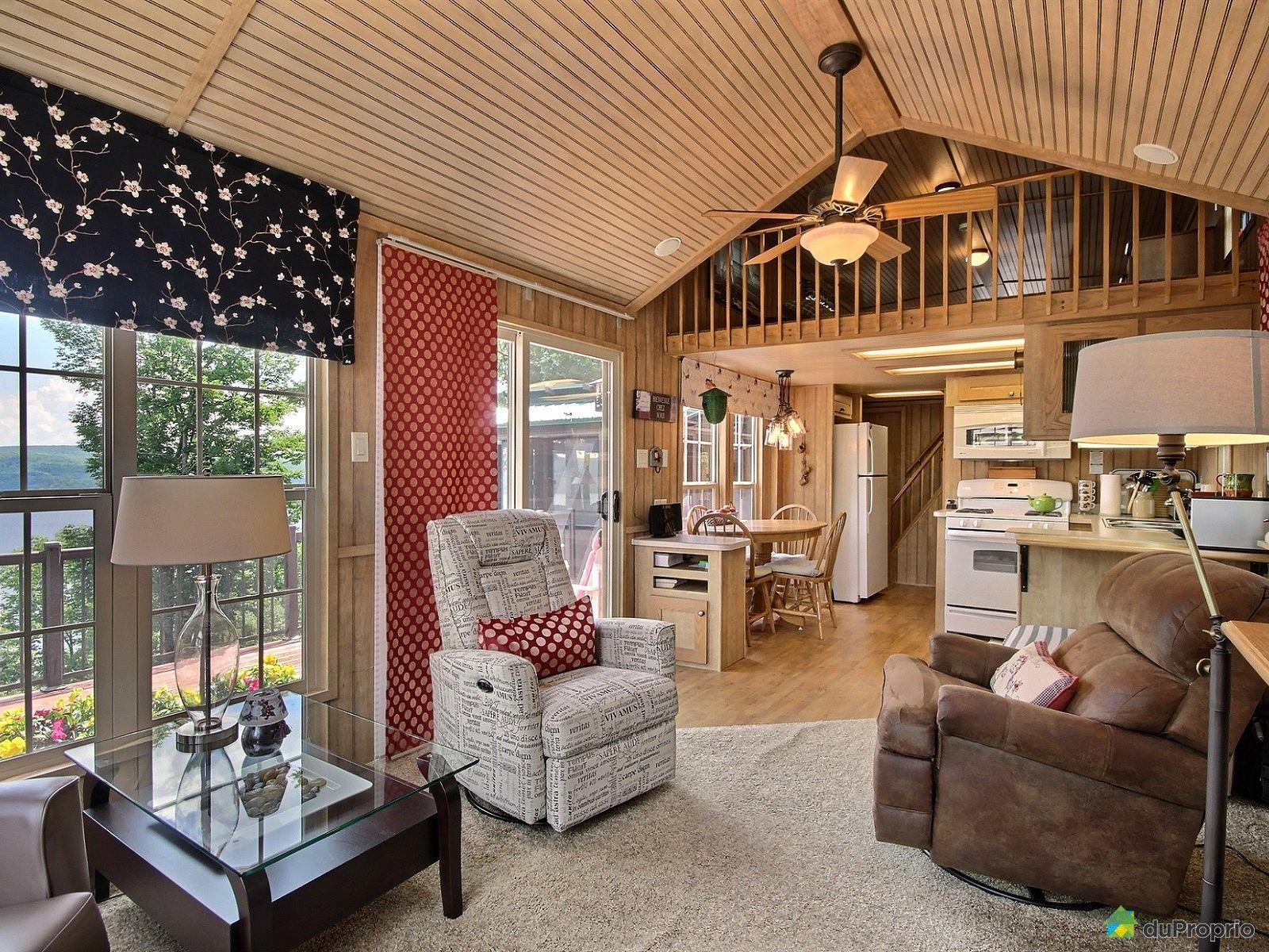 Chalet vendre mansonville 40 54 chemin carlton oliver - Amortissement appartement meuble ...