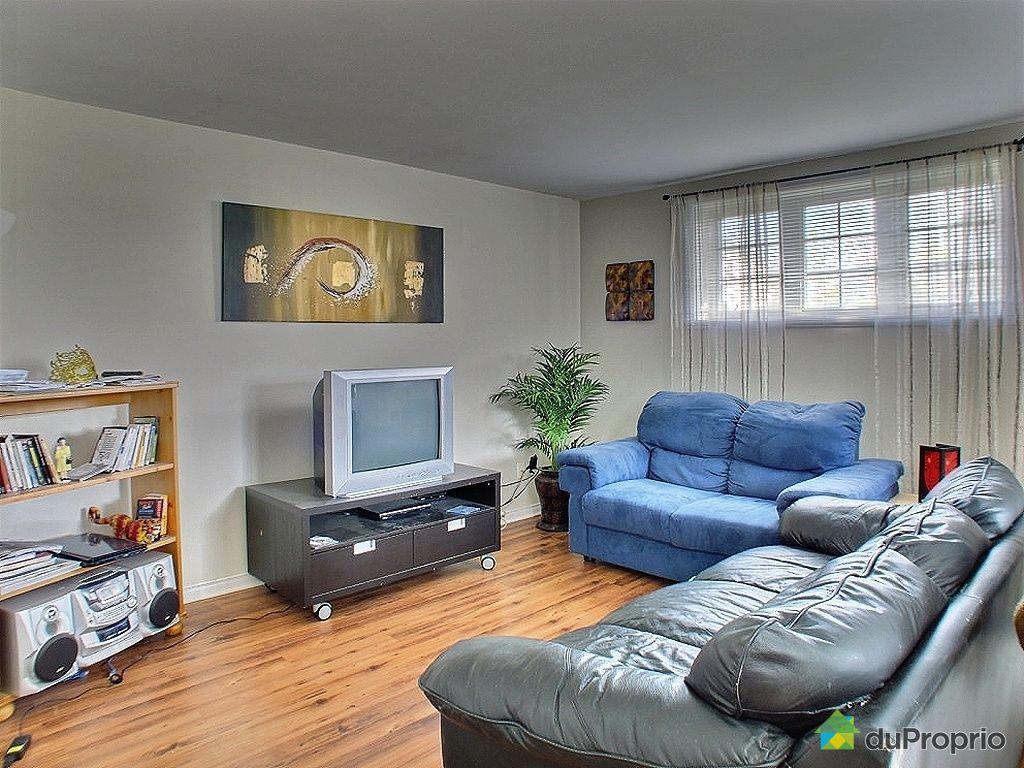 Duplex vendu chambly immobilier qu bec duproprio 326739 for Salon du logement