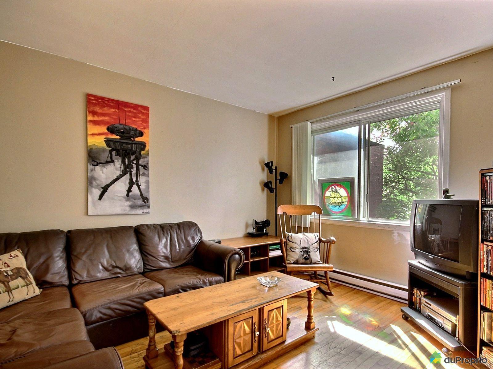 Duplex vendre montr al 2545 47 avenue jeanne d 39 arc for Salon du logement