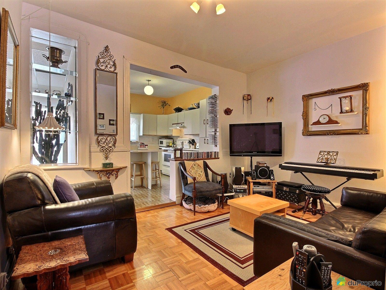 Duplex vendre montr al 6032 34 rue d 39 aragon immobilier for Salon du logement
