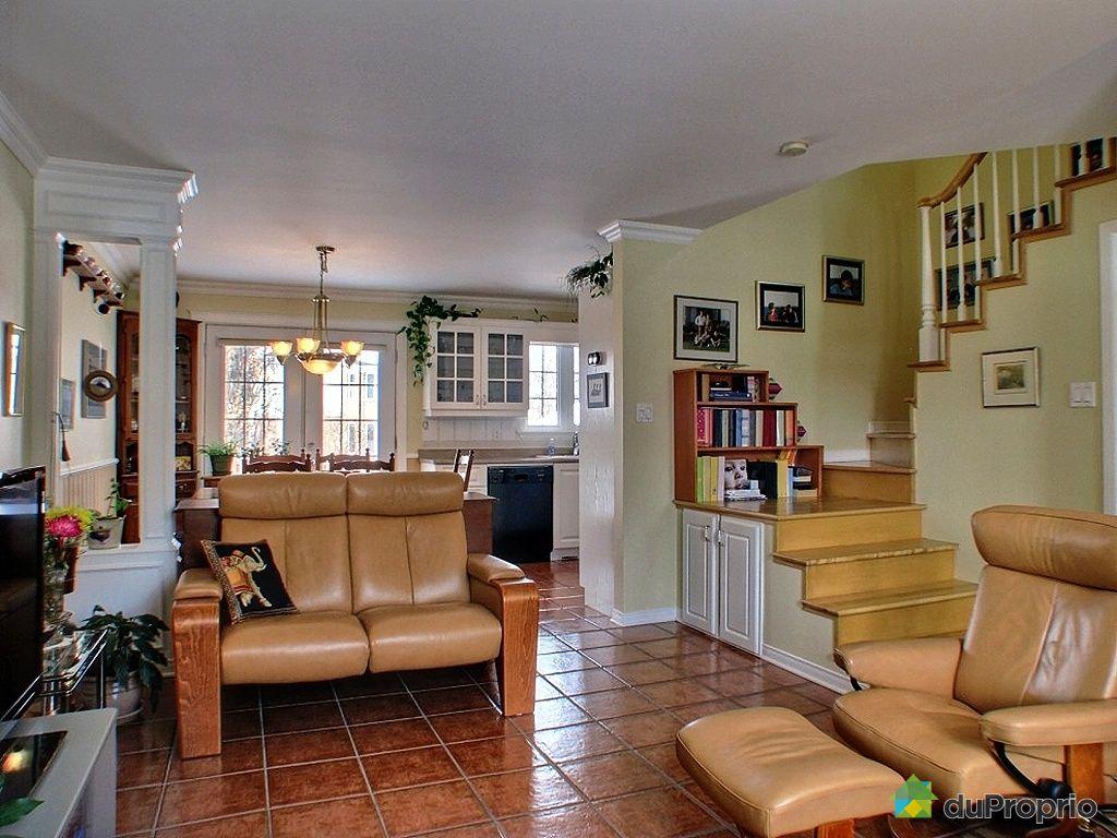 Maison vendu rosem re immobilier qu bec duproprio 309517 for Salon du logement