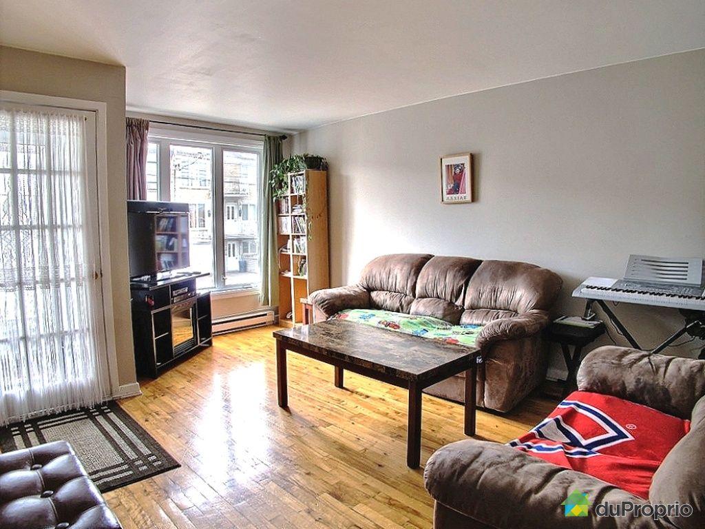 Triplex vendu montr al immobilier qu bec duproprio 422596 for Salon du logement