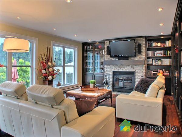 Meuble Tele Avec Foyer : Maison à Vendre St-alphonse-rodriguez, 10 Rue Aqueduc, Immobilier