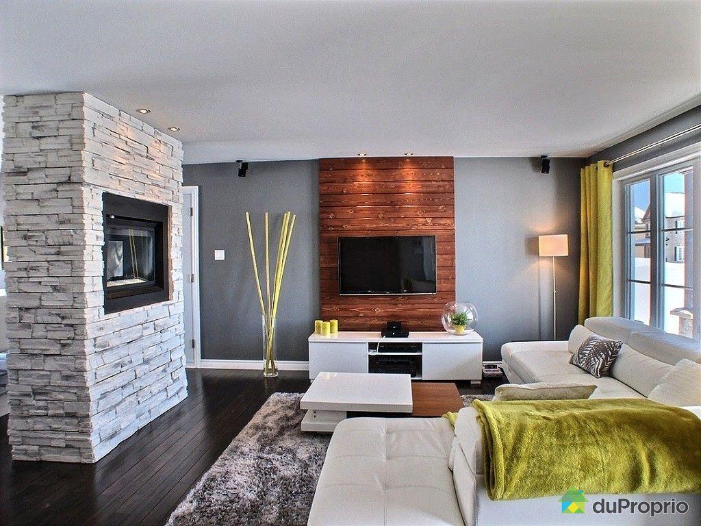 Maison vendre st r dempteur 503 rue duquet immobilier for Couleur cuisine salon air ouverte