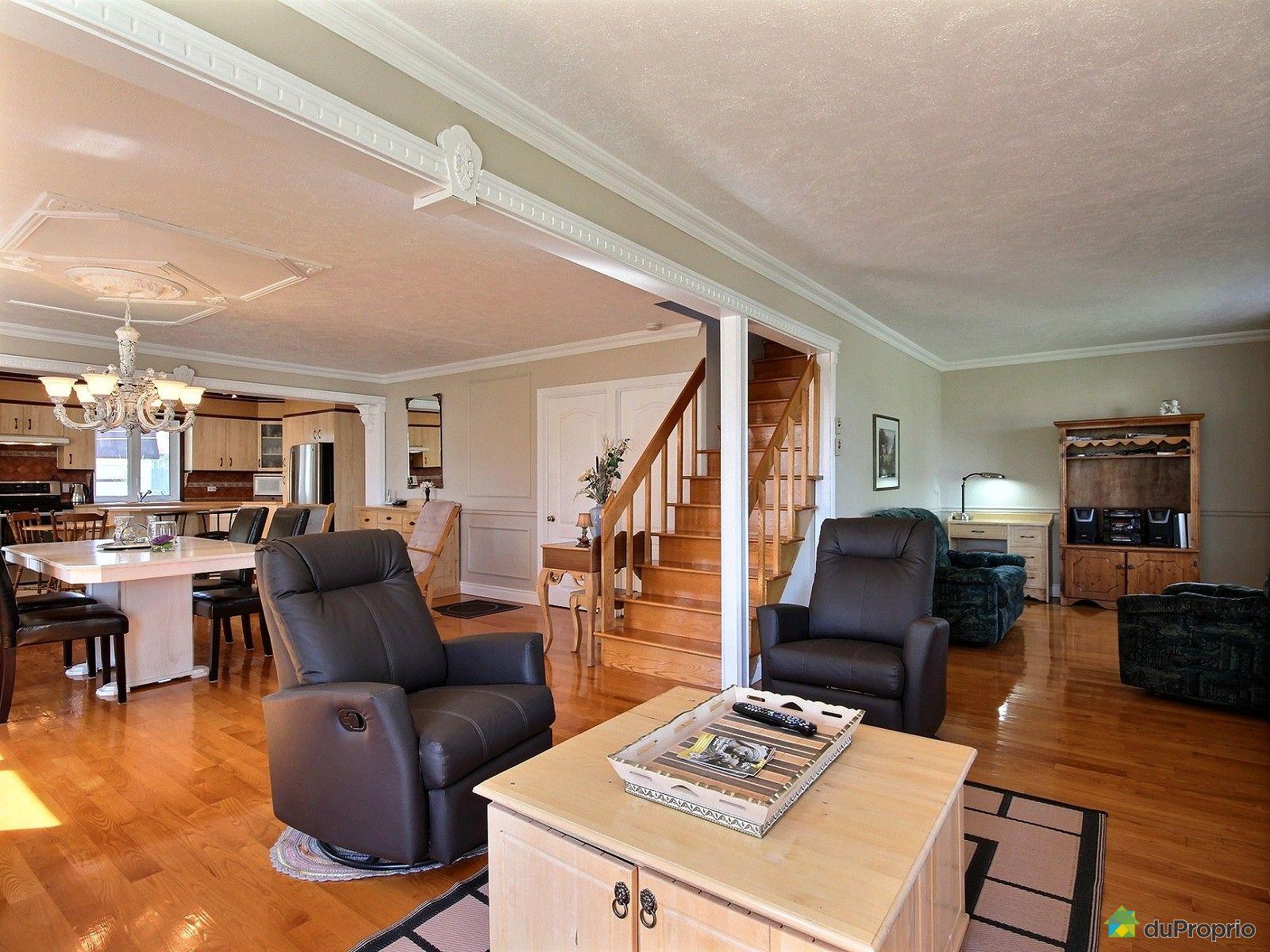 Maison vendre normandin 1768 rue saint cyrille for Salon maison de campagne