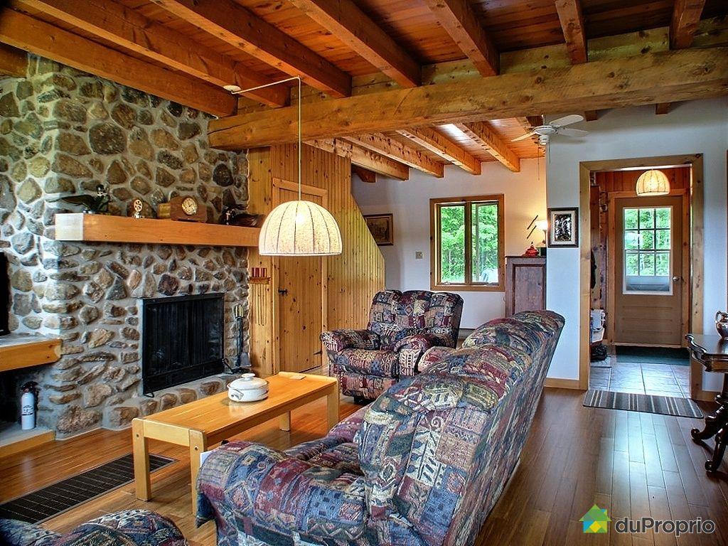 Maison vendre rivi re rouge 2369 chemin du lac vert immobilier qu bec d - Salon maison de campagne ...