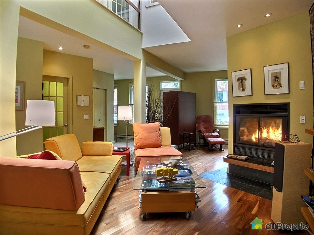 Maison vendu montr al immobilier qu bec duproprio 436295 for Extension maison salon
