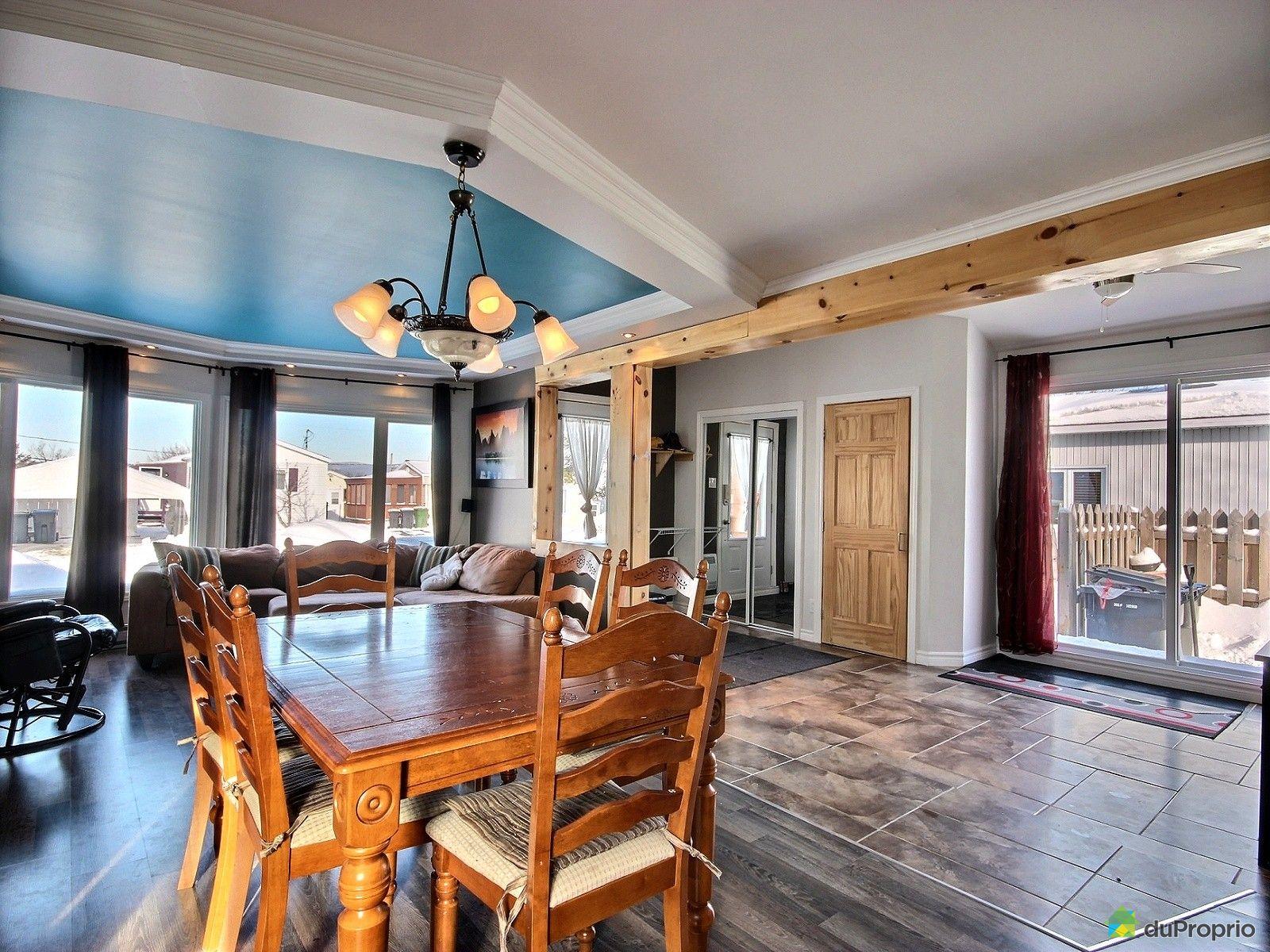 maison vendre l vis 112 rue de la ros e immobilier qu bec duproprio 666207. Black Bedroom Furniture Sets. Home Design Ideas