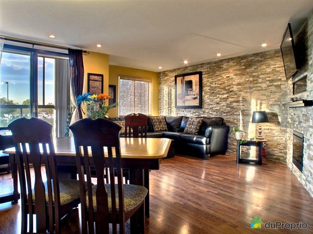 Condo vendre longueuil 202 280 rue du bord de l 39 eau - Rideaux salle a manger salon ...