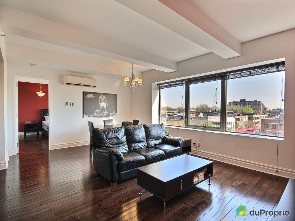 condo vendre montr al 509 1010 rue ste catherine est immobilier qu bec duproprio 609065. Black Bedroom Furniture Sets. Home Design Ideas