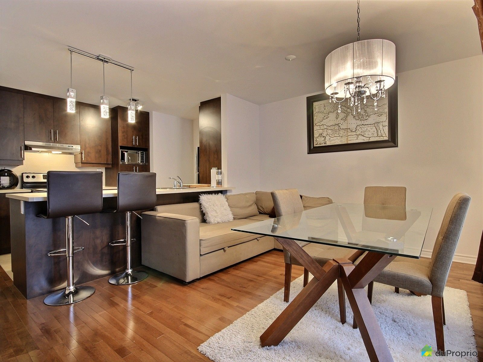 Condo vendre montr al 102 2337 rue augustin cantin for Salle a manger montreal
