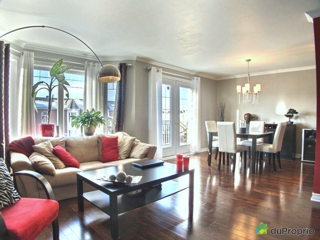 Condo vendu montr al immobilier qu bec duproprio 482527 - Rideaux salle a manger salon ...