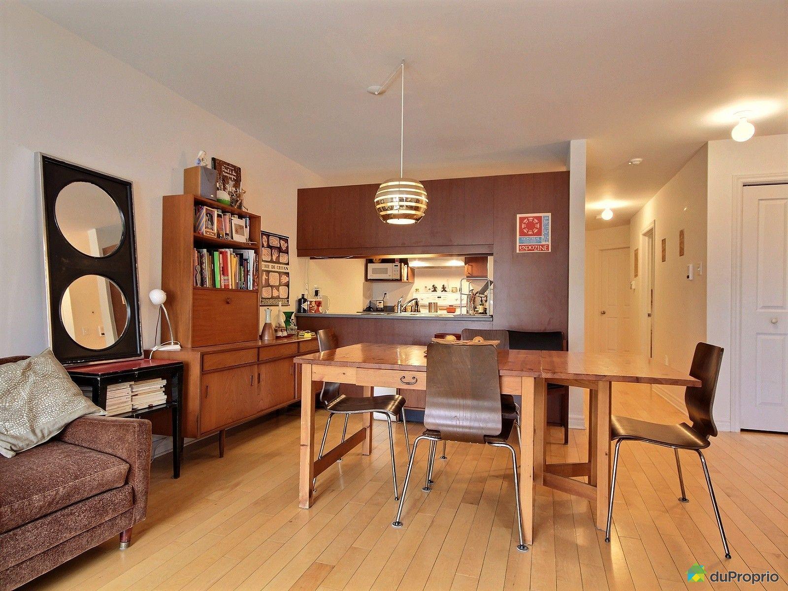 Condo vendre montr al 3 6691 avenue de chateaubriand for La salle a manger montreal