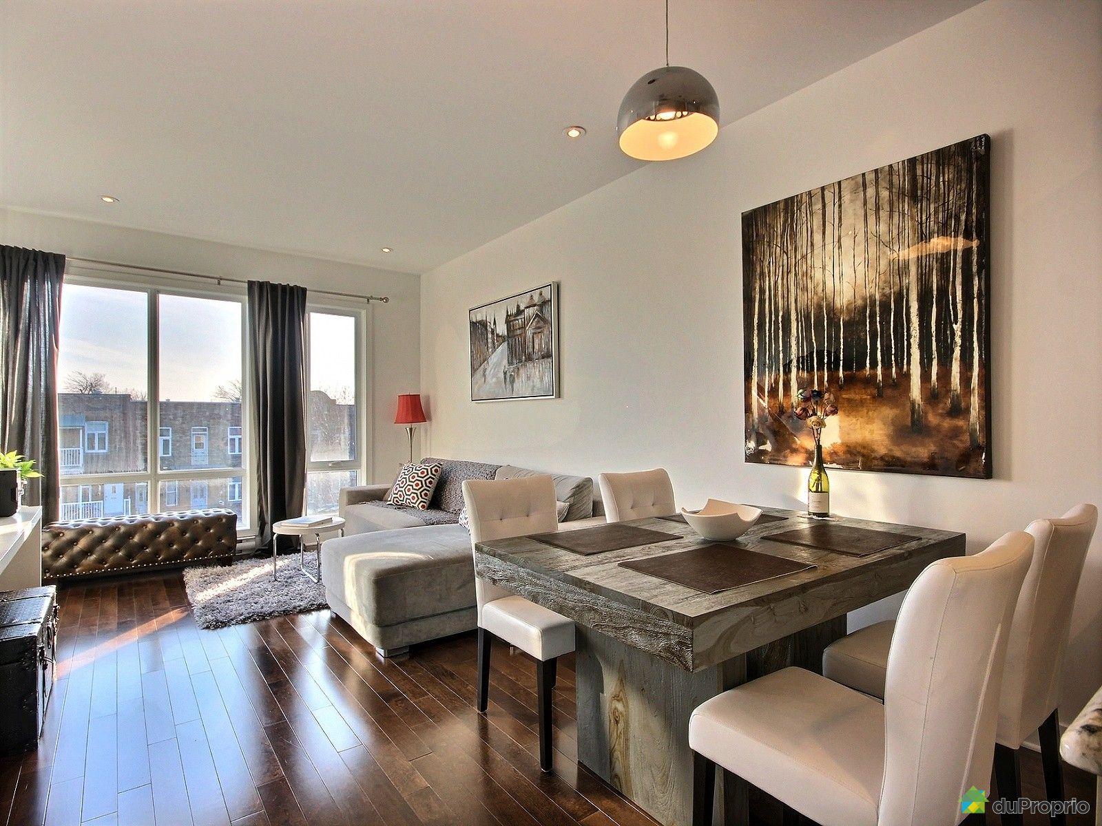 Condo vendre montr al 401 6717 avenue christophe colomb for La salle a manger montreal