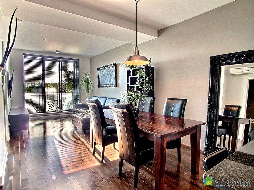 Condo vendu montr al immobilier qu bec duproprio 524147 for La salle a manger montreal